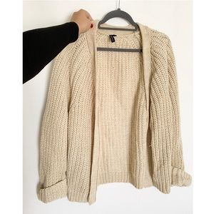 NWOT Thick Knit Chunky Cardigan